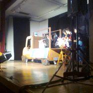 Temeswarer Auftritt des Gong Puppentheaters