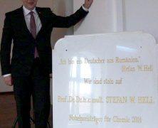 Banaterdeutscher Nobelpreisträger besucht seine Heimat – Prof. Dr. Stefan Hell in Sanktanna und Temeswar