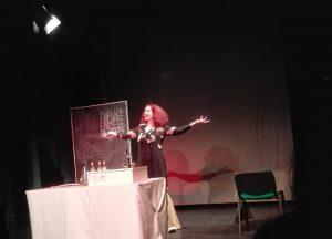 Hedy Lamarr - gespielt von Anita Zieher im DSTT