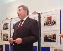 Abschiedsempfang des deutschen Botschafters Werner Hans Lauk in Bukarest