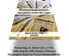 Buchvorstellung mit BZ-Chef Werner Kremm