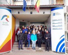 Internationale Schülergruppe besucht Radio Temeswar