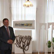 Holzbildhauer Michael Messer in Reschitza