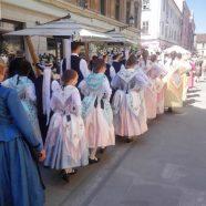 Hunderte Trachten, Festgottesdienst und Kulturprogramm