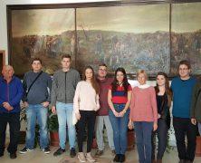 Delegation der Ungarndeutschen Jugend im Banat und Siebenbürgen
