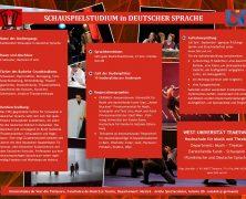 Deutsche Schauspielabteilung in Temeswar – Vergangenheit und Gegenwart