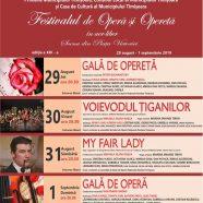 Open-Air-Operetten- und Opernfestival 2019 in Temeswar