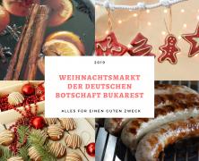 WEIHNACHTSMARKT DER DEUTSCHEN BOTSCHAFT BUKAREST 2019