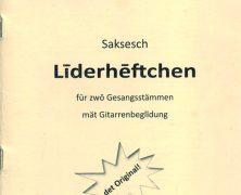Sächsisches Liederheftchen Anno 2020