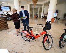 Smart-Mieträder für die Stadt