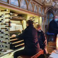 Steffen Schlandt und die Orgel