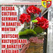 """""""DEUTSCHE KULTURDEKADE IM BANATER BERGLAND"""" XXXI. Auflage, Oktober 2021"""