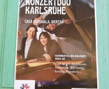 Karlsruher Konzert-Duo in Rumänien